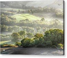 Italy, Tuscany, Morning Light Acrylic Print