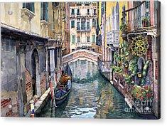 Italy Venice Trattoria Sempione Acrylic Print
