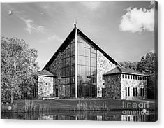 Ithaca College Muller Chapel Acrylic Print by University Icons