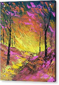 Its A Colorful Life Acrylic Print by Steven Lebron Langston