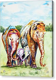 It's A Family Affair Acrylic Print