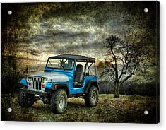 It's A Jeep Thing Acrylic Print by Sami Martin
