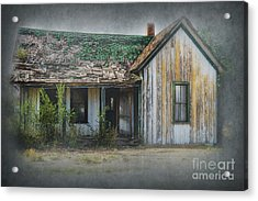 It's  A Long Story Acrylic Print by Sandra Bronstein