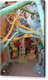 It's A Magical World Acrylic Print by Laurie Search