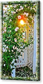 It's A New Dawn It's A New Day Acrylic Print by Margaret Newcomb