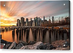 Acrylic Print featuring the photograph Its A New Year  by Anthony Fields