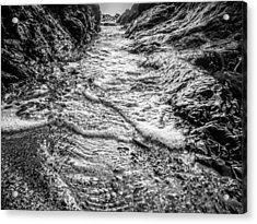It's A Rush Browns Beach  Acrylic Print by Roxy Hurtubise