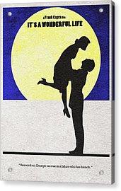 It's A Wonderful Life Acrylic Print by Ayse Deniz