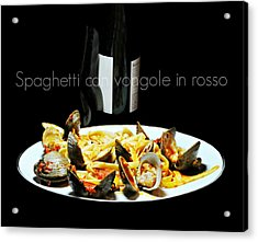 It's What's For Dinner Acrylic Print by Diana Angstadt