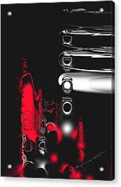 It's Complicated Acrylic Print by Kume Bryant