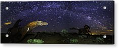 Its Made Of Stars Acrylic Print by James Heckt