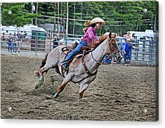 Its My Best Run Acrylic Print by Gary Keesler