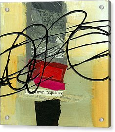 Its Own Frequency Acrylic Print by Jane Davies