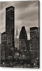 Its Relative  Acrylic Print by JC Findley