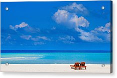 Its That Simple Acrylic Print by Jenny Rainbow