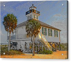 Boca Grande Lighthouse 1890 Acrylic Print
