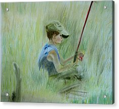 Ivan And The Red Rod Acrylic Print