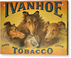 Ivanhoe Tobacco - The American Dream Acrylic Print by Christine Till