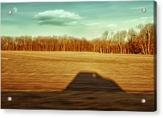 I've Been Everywhere Man Acrylic Print by Steven Michael