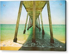 I've Been Here Before Acrylic Print by Laurie Search