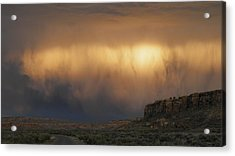 I've Seen It Raining Fire In The Sky Acrylic Print by Feva  Fotos
