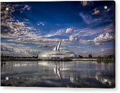 Ivory Tower Of Knowledge  Acrylic Print by Marvin Spates