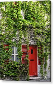 Ivy Cottage Acrylic Print by Ann Horn