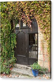 Acrylic Print featuring the photograph Ivy Covered Doorway by Paul Topp