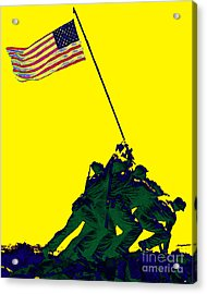 Iwo Jima 20130210p118 Acrylic Print by Wingsdomain Art and Photography