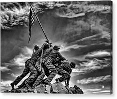 Iwo Jima Acrylic Print by Boyd Alexander