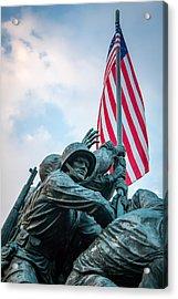 Iwo Jima Forward Acrylic Print
