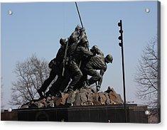 Iwo Jima Memorial - 12122 Acrylic Print