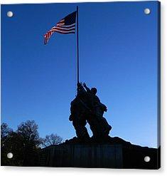 Iwo Jima Memorial Acrylic Print