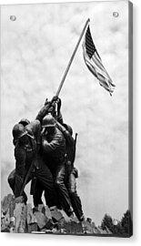 Iwo Jima Memorial Washington Dc Acrylic Print by Greg and Chrystal Mimbs