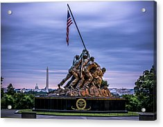 Iwo Jima Monument Acrylic Print