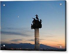 Izmir War Monument On Kordon Acrylic Print by Jacqueline M Lewis