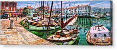 Izola Impressionist Acrylic Print by Graham Hawcroft pixsellpix