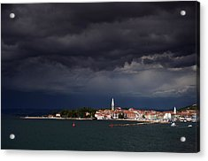 Izola In The Eye Of A Storm Acrylic Print by Graham Hawcroft pixsellpix