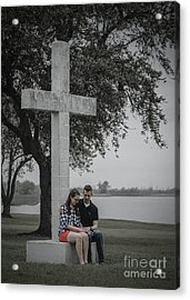 J And M Acrylic Print by D Wallace