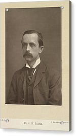 J. M. Barrie Acrylic Print by British Library