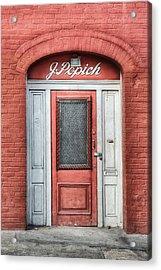 J. Popich Acrylic Print by Brenda Bryant