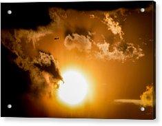 Acrylic Print featuring the photograph Jabiru Sunset Cloud by Paul Job