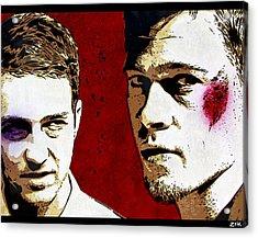 Jack And Tyler Acrylic Print by Bobby Zeik