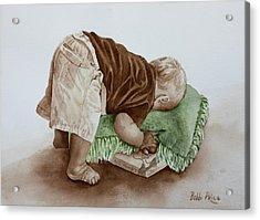 Jack Acrylic Print by Bobbi Price