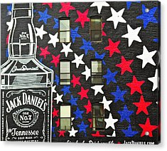 Acrylic Print featuring the photograph Jack Daniel's Wall Art by Joan Reese