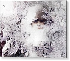 Jack Frost Nipples Your Nose Acrylic Print by Gun Legler