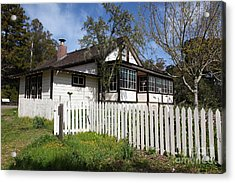 Jack London Cottage 5d22122 Acrylic Print by Wingsdomain Art and Photography
