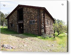 Jack London Stallion Barn 5d22086 Acrylic Print by Wingsdomain Art and Photography
