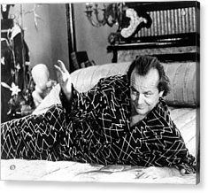 Jack Nicholson In The Witches Of Eastwick  Acrylic Print by Silver Screen