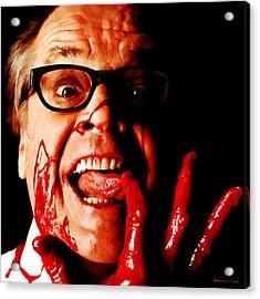 Jack Nicholson Painted From Photo Of Matthew Rolston Acrylic Print